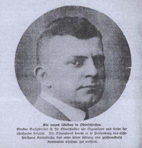 """Alfred Salzwedel - Jeden z kierowników """"Lichtspielhaus"""" (Kino Roma)"""